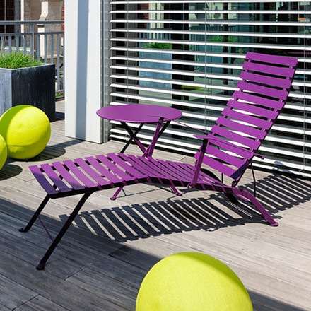 Fermob - Bistro Collection chaise lounge