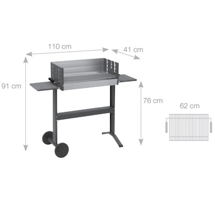 Dancook - Dimension 5300 box grill