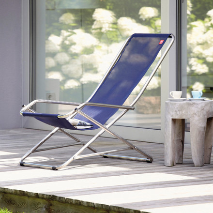 Fiam - Alu Swing Armchair Dondolina, ambience image