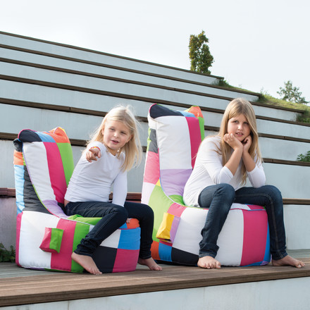 Sitting Bull - Chill Seat Mini, patchwork