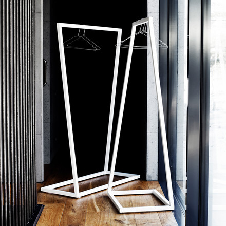 BeDesign - Lume coat stand, white
