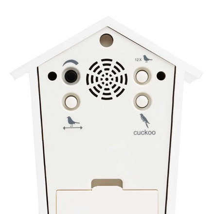 KooKoo - Bird House Mini white, back side
