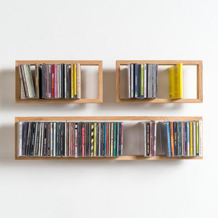 the floating cd shelf b in shop. Black Bedroom Furniture Sets. Home Design Ideas