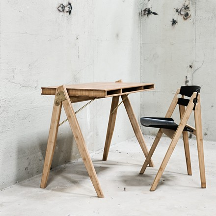 We do no wood - Field Desk and dining chair no. 1