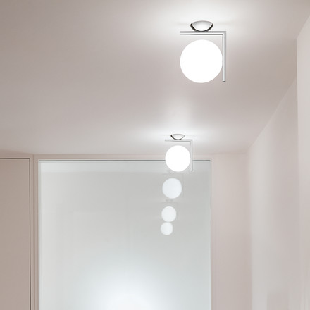 Flos - IC Wall and Ceiling Lamp, chrome