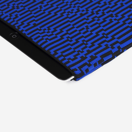 Zuzunaga - iPad 2-3 / Air Case, blue