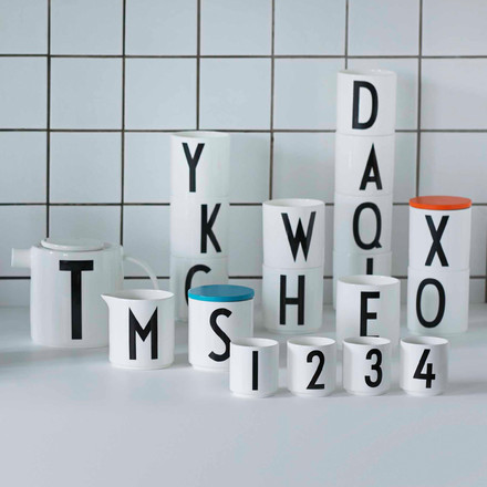 Minimalistic product variety by Design Letters for wordsmiths