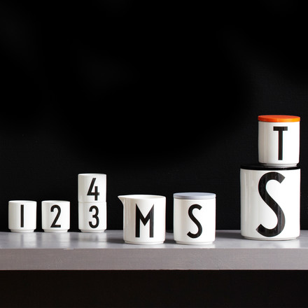 Creative word games with the Design Letters porcelain series