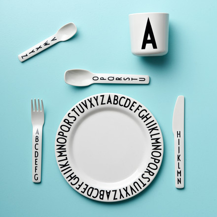 Designer tableware for grown-ups and kids
