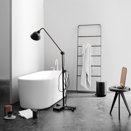 Purist design for the bathrooms