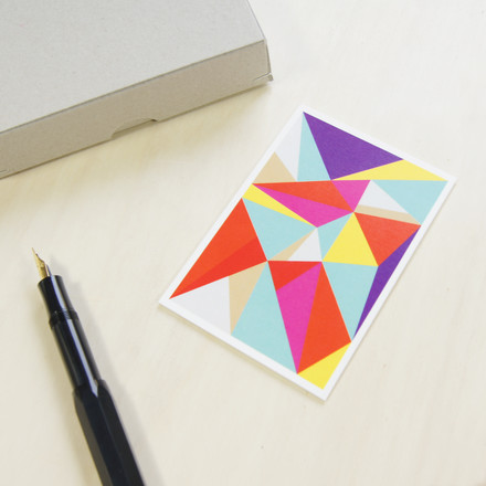 Colourful greeting card for different occasions