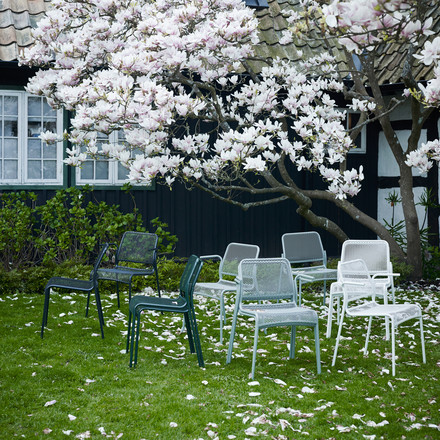 Mira chairs for the garden