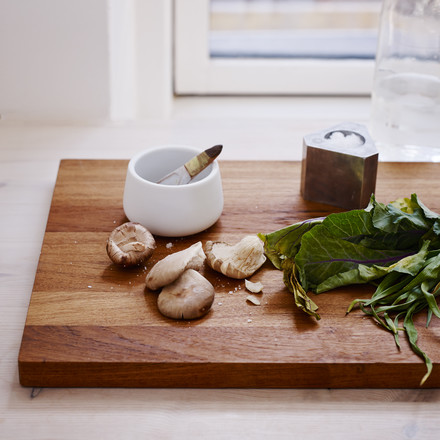 The basic cutting board is useful in every kitchen