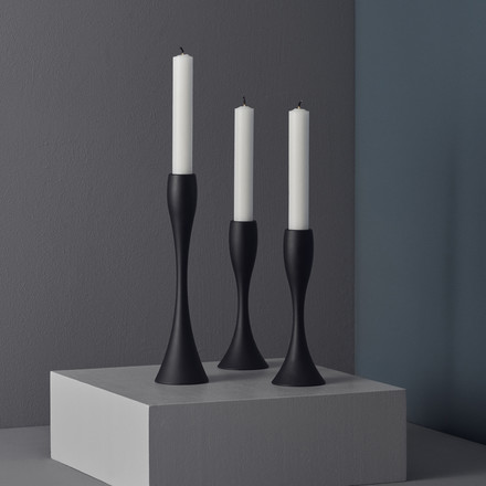 The Reflection Candlesticks by Stelton in different sizes.