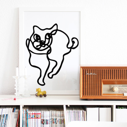snug.loves.cats Poster by Snug.studio