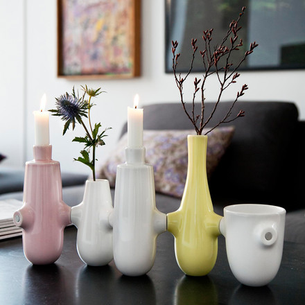 Vase and candleholder in one