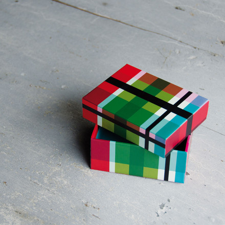 Boxes set (5pcs.), ZigZag by Remember