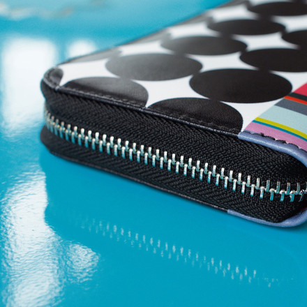 Brightly coloured Wallet