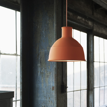 Muuto - Unfold Pendant Lamp, orange