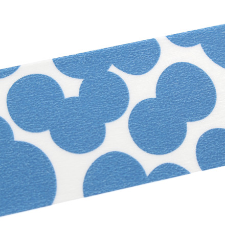 Masking tape mit Soda Water Blue pattern