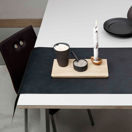 Table Runner by LindDNA in Nupo black