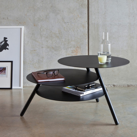 Big Trio Side Table by Pulpo in Black