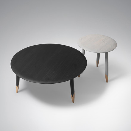 Hoof coffee tables SW1 and SW2 by &Tradition