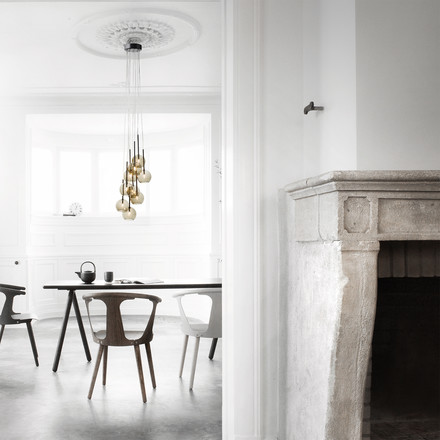 Ice Chandelier 9 SR6 by &Tradition