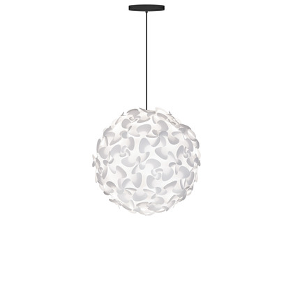 Lora pendant lamp by Vita in white