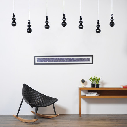 Bubble pendant lamp by Innermost