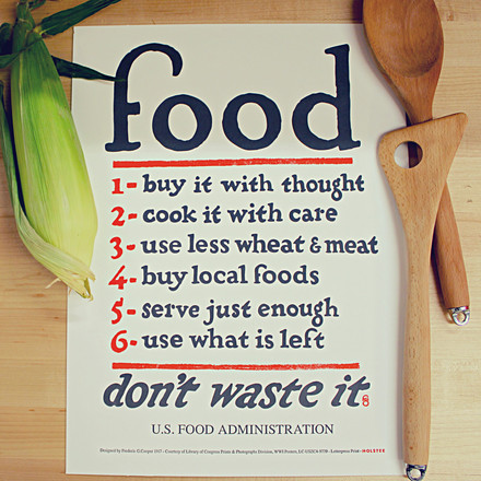 Food Rules Poster by Holstee