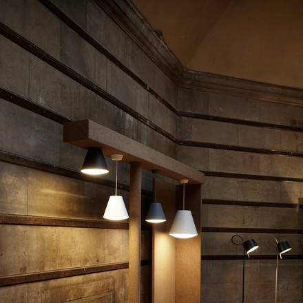 Sinker pendant and ceiling lamp