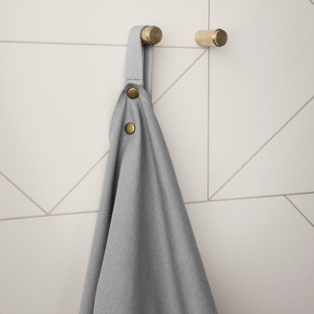 Apron with the Brass Wall Hook in a set of 2 by ferm Living