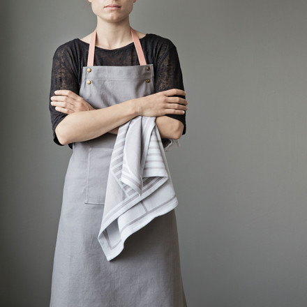 Apron by ferm Living with Outline Tea Towel