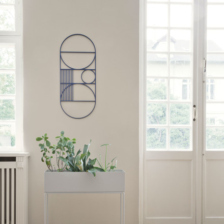 Outline Wall Decoration with Plant Box by ferm Living