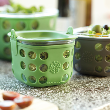 Glass Food Container by Lifefactory