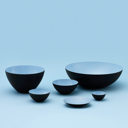 Normann Copenhagen - Krenit bowl, light blue