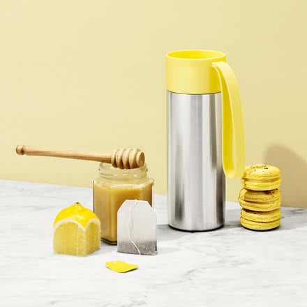 Eva Solo - To Go thermos cup, lemon yellow