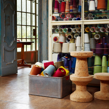 Vitra - Stool - Cork Family