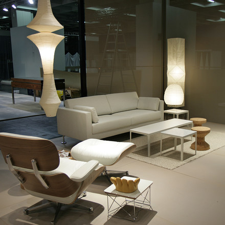 Comfortable seating area by Vitra