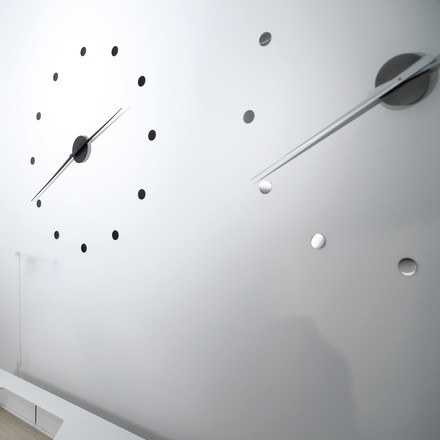 Radius Design - Flexible wall clock, black