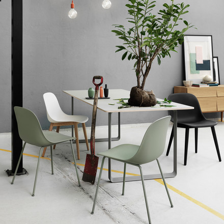 Muuto - Fiber Side Chair Wood variants