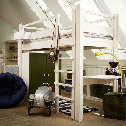 Bunk bed for all age groups and at different heights