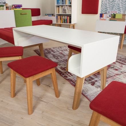 debe.deline Children's Table and Children's Stool