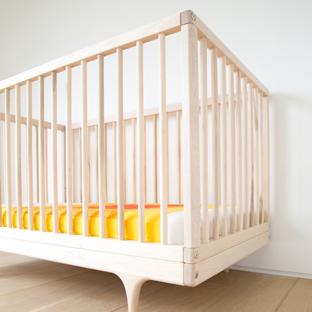 Baby bed caravan crib from FSC certified European Maple