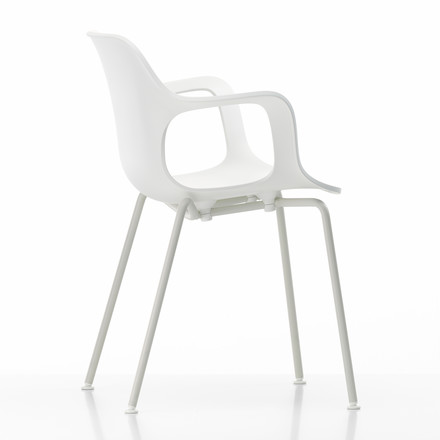 Hal Tube Outdoor Armchair by Vitra in white