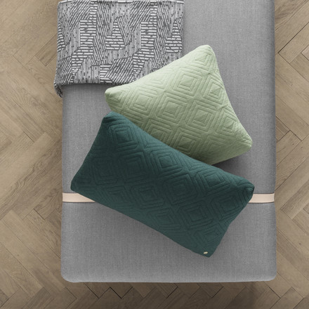 Cushion and Blanket by ferm Living