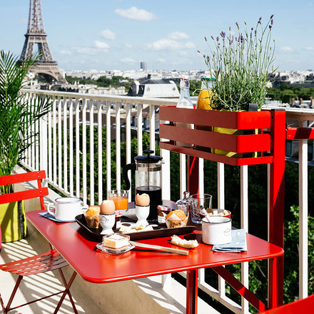 Breakfast with Bistro Balcony Table