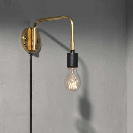 The Staple Lamp by Menu in brass