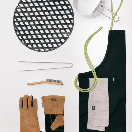 Versatile barbecue accessories by Höfats
